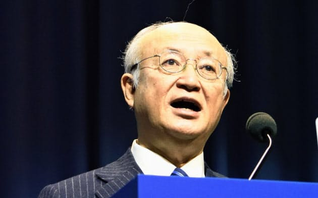 天野事務局長が死去 IAEA発表