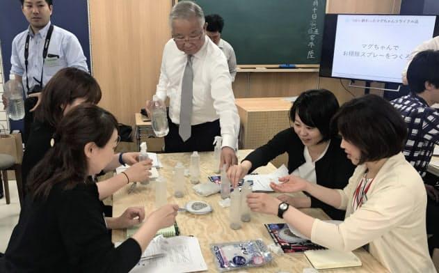 東急ハンズは社員と顧客が生活に関わる商品や知識を学ぶイベントを始めた(東京・豊島)