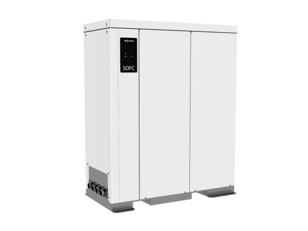 三浦工業が10月に発売する業務用燃料電池システム