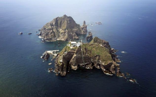 韓国軍、竹島上空で警告射撃 ロシア軍機に