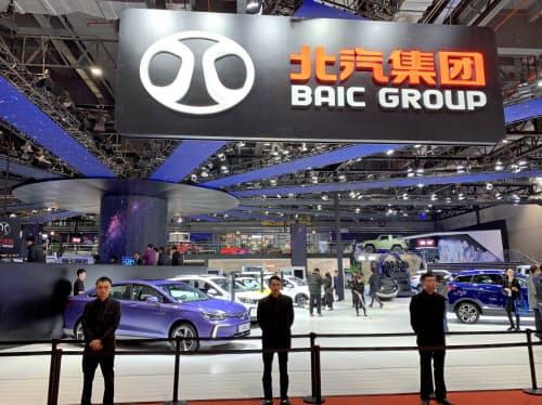 北京汽車集団はダイムラーと長年の提携関係にある