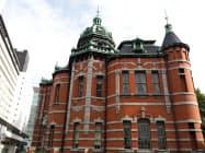 赤煉瓦文化館は1969年に国の重要文化財に指定された
