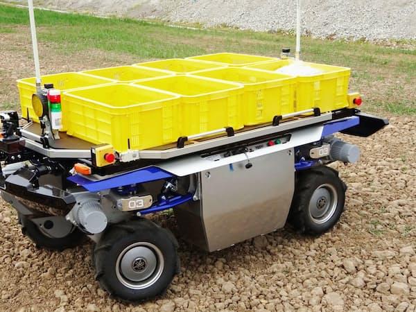 ヤマハ発動機が開発する農業用の無人走行車両