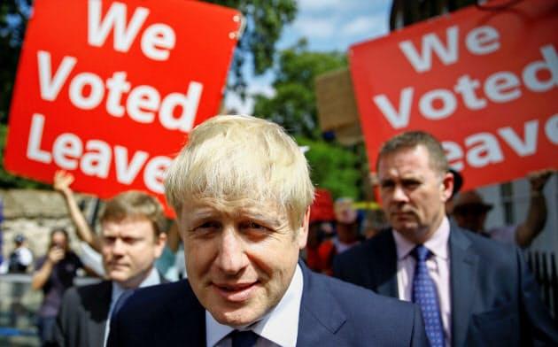 英首相に王手をかけたジョンソン前外相=ロイター