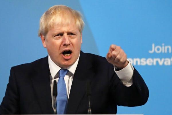 英与党党首に選出されたジョンソン前外相=AP
