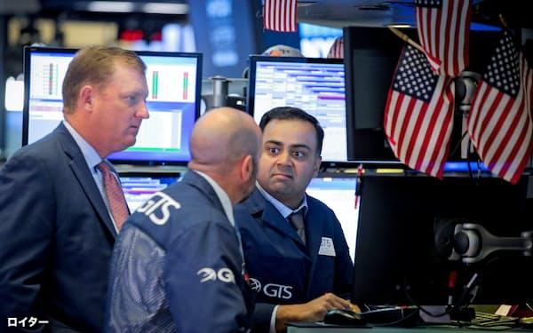 米中貿易交渉の進展への期待から買いが集まった(ニューヨーク証券取引所)=ロイター