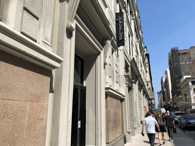 オフィスシェア大手、ウィーカンパニーの本社(ニューヨーク)