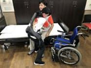 介護施設の職員の作業を補助する