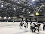 愛知県国際展示場「アイチ・スカイ・エキスポ」は日本最大級の広さとなる(愛知県常滑市)