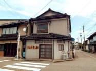 住定夢の館は市が空き家を改装してつくった(富山県黒部市)
