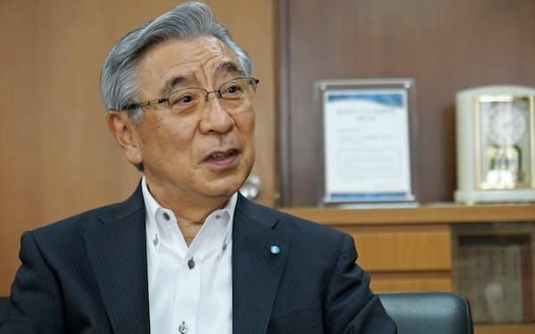 南日本銀行の斎藤真一頭取