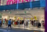 ブラジルの個人消費は落ち込んでいた(24日、サンパウロ)