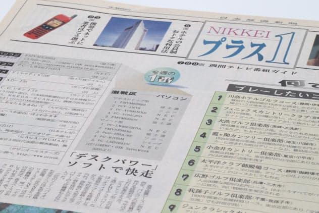 2000年4月1日発行のプラス1創刊号