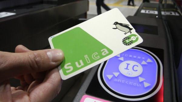 Suicaは発行枚数が約8000万枚と利用者が多い