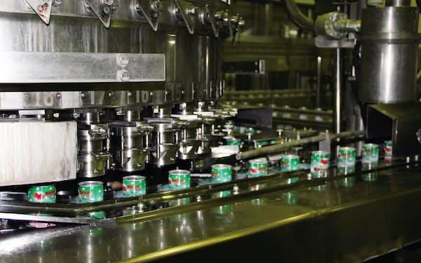 SOT缶の製造ラインは、新設備導入で充填速度が約2倍になる