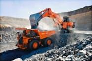 鉱山機械の受注は底堅く推移する