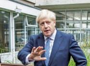 ジョンソン英首相はEU離脱が、米英の経済関係強化の機会になると考える=ロイター