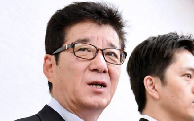 日本維新の会の松井一郎代表