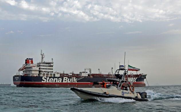 イランが英タンカーを拿捕(だほ)し、欧州と対立している(7月21日)=ロイター