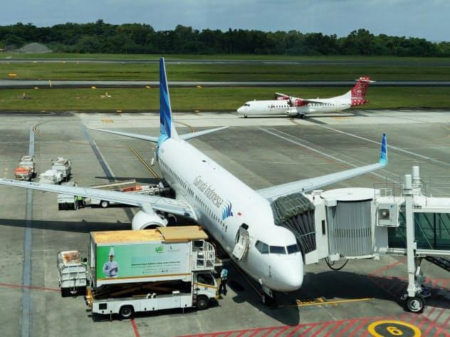 ガルーダは国内外で激しい競争にさらされている(バリクパパンの空港)