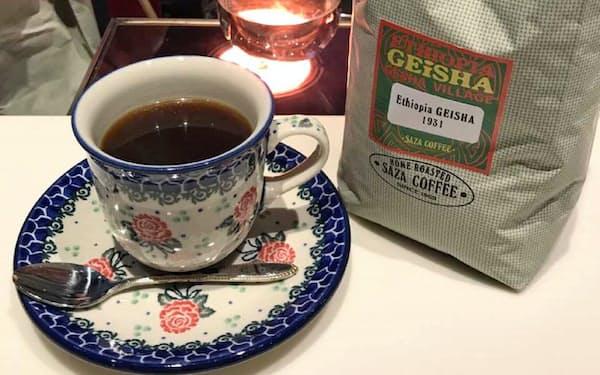 サザコーヒーKITTE丸の内店では7月、ホットコーヒーの注文が多かった