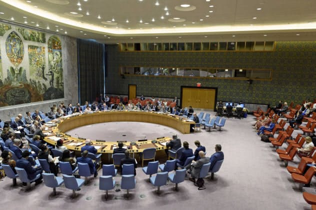 国連安全保障理事会=AP