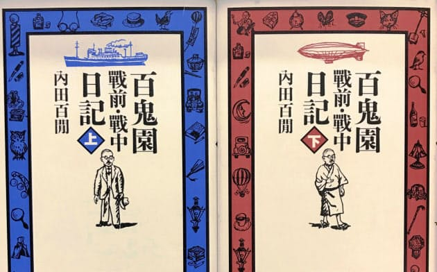 刊行された内田百●(もんがまえに月)の日記
