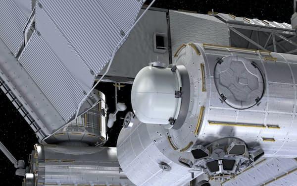米ナノラックスは商用の衛星放出機構をISSに設置する計画だ