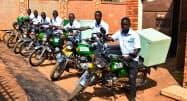 ヤマハ発は、ウガンダの配送サービス事業者と協業