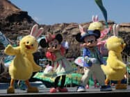 新キャラクターが登場するイベントが人気だった(千葉県浦安市の東京ディズニーシー)