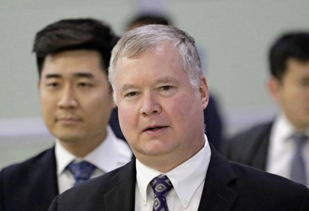米国務省のビーガン北朝鮮担当特別代表はASEAN地域フォーラム(ARF)が開かれるバンコクを訪れている=AP