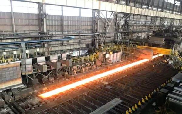 鋼板は国内在庫の減少が課題(日本製鉄の君津製鉄所)