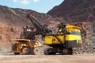鉱山機械需要は地域により好不調の差が出ている