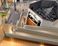 牧野植物園「展示館」の完成予想図