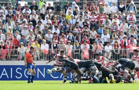 W杯D組のフィジーは9月25日、釜石でウルグアイと対戦する(7月の日本代表戦)