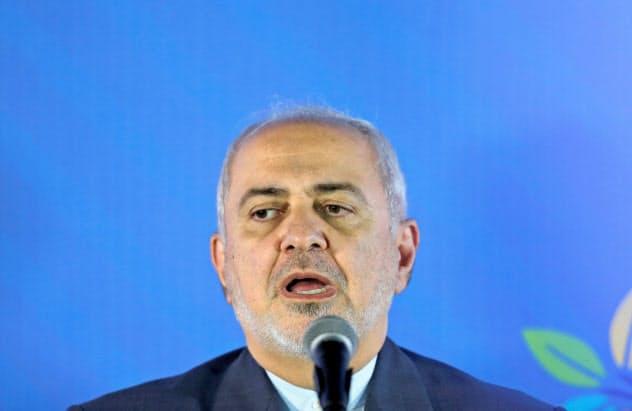 イランのザリフ外相は米メディアのインタビューにも応じている=ロイター