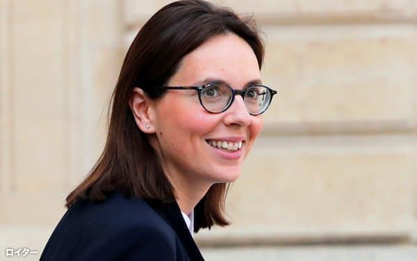 フランスのドモンシャラン欧州問題担当相はEU統合推進に意欲を見せる=ロイター