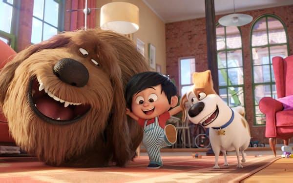 『ペット2』 映画のオープニングを飾る楽曲はジェイZとアリシア・キーズが歌う「エンパイア・ステイト・オブ・マインド」。ニューヨークを舞台にした「ペット」にピッタリのナンバーだ。監督はクリス・ルノー(東宝東和配給)(C)Universal Studios. Photo by Eric Zachanowich.