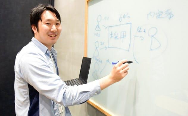 LINE エンプロイーサクセス室 人材支援チーム ピープルアナリスト 田中賢太氏