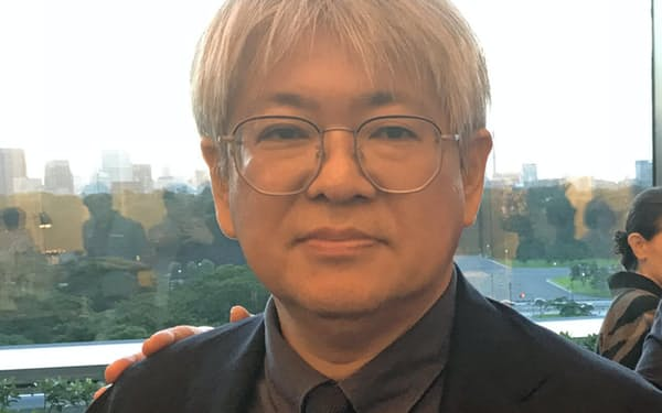 「培ったその人脈やノウハウを日本の文化に役立てたい」と語る市山尚三氏