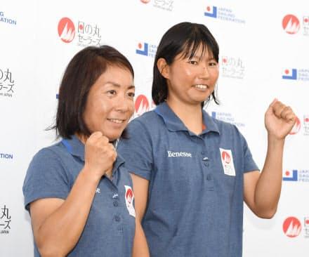 吉田(左)と吉岡。10歳の年の差がある2人がコンビを組んで7年目になる