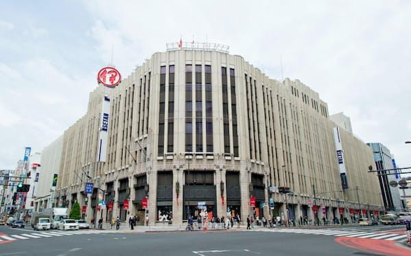 伊勢丹新宿本店(東京・新宿)など基幹店の改装効果はこれから