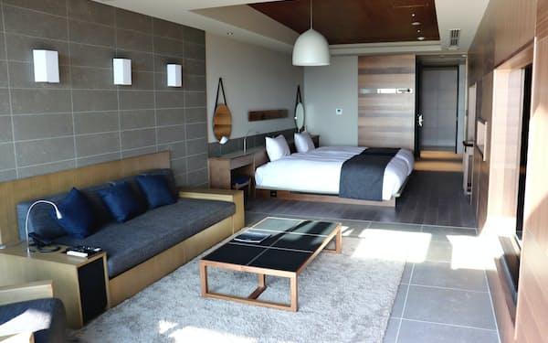 鶴雅HDは高級旅館を開業した(北海道千歳市)
