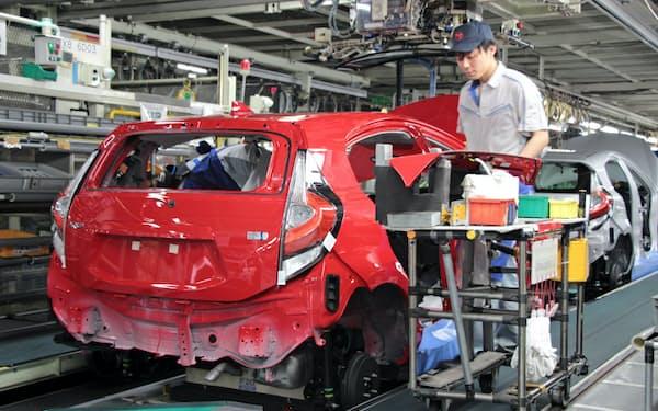 トヨタ自動車東日本は東北に小型車の生産を集約する