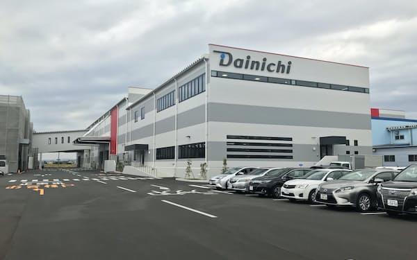 ダイニチ工業は省人化に向け27億円を投じて物流センターを整備した
