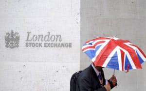 英ロンドン証取は情報サービス分野に力を入れている=ロイター