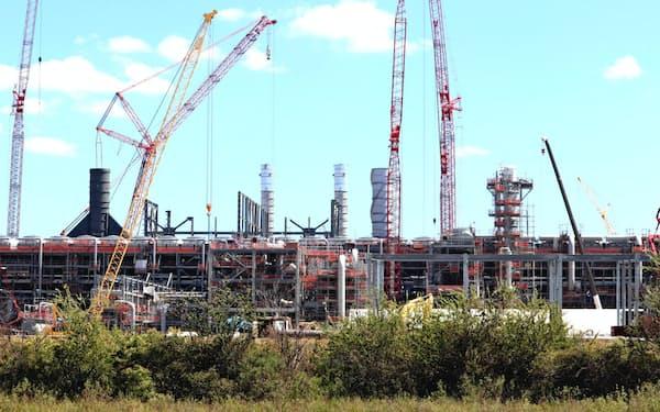 米国の供給増でLNGの需給とプレーヤーは大きく変化(ルイジアナ州のキャメロン)