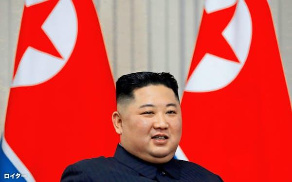 北朝鮮の金正恩委員長=ロイター