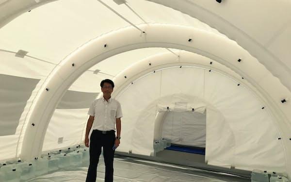 東京理科大は「月面基地」を使って宇宙で暮らすための研究を進める