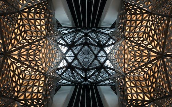 故ザハ・ハディド氏が設計したメルコリゾーツ&エンターテインメントのホテル「モーフィアス」(マカオ)